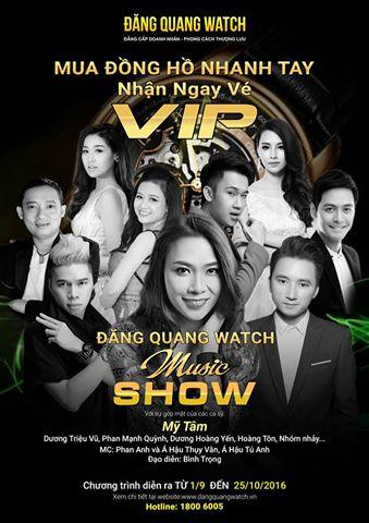 Đăng Quang music show 2016