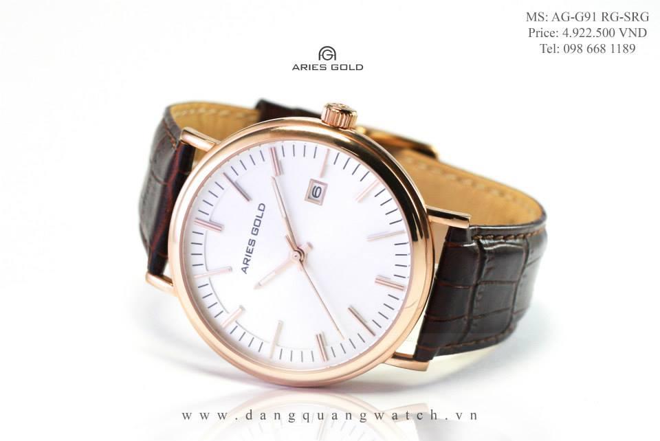 đồng hồ aries gold AG-G91 RG-SRG
