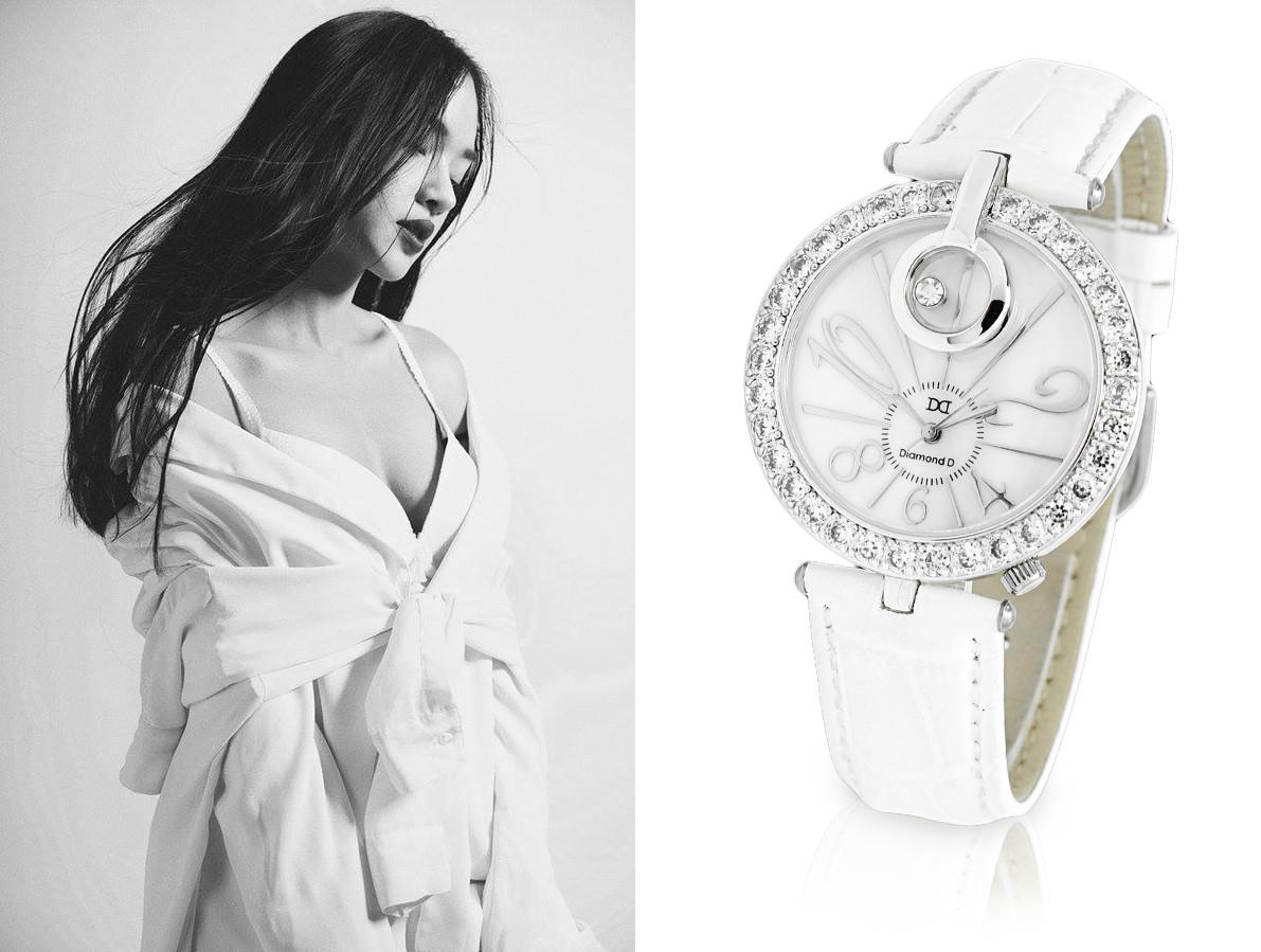 đồng hồ diamond d DM38505W