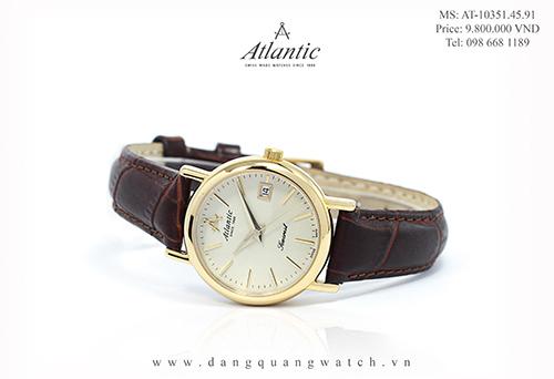 đồng hồ atlantic nữ 10351.45.91