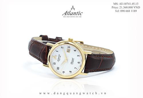 đồng hồ atlantic nữ 10741.45.13