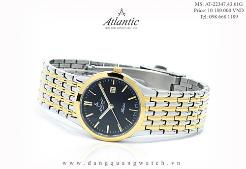 đồng hồ atlantic nữ 22347.43.61G