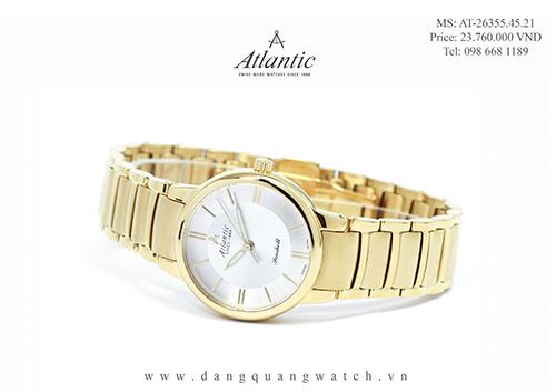 đồng hồ atlantic nữ 26355.45.21