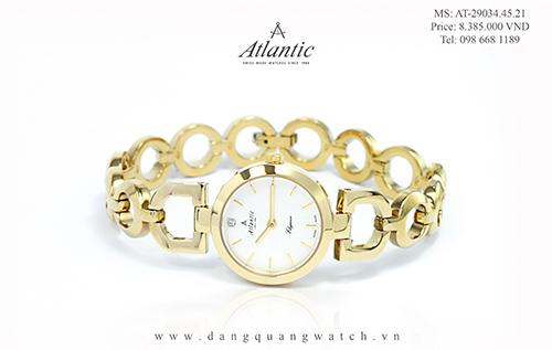 đồng hồ atlantic nữ 29034.45.21