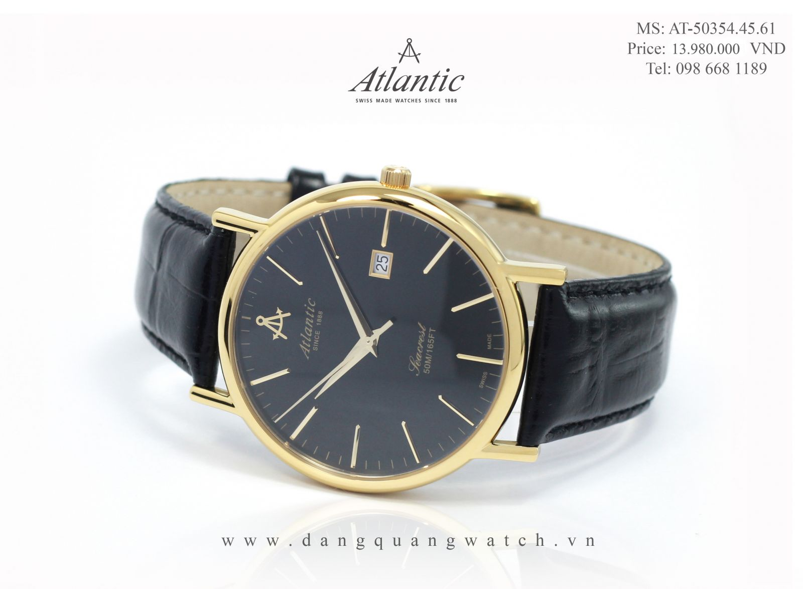 Đồng hồ nam atlantic 50354.45.61