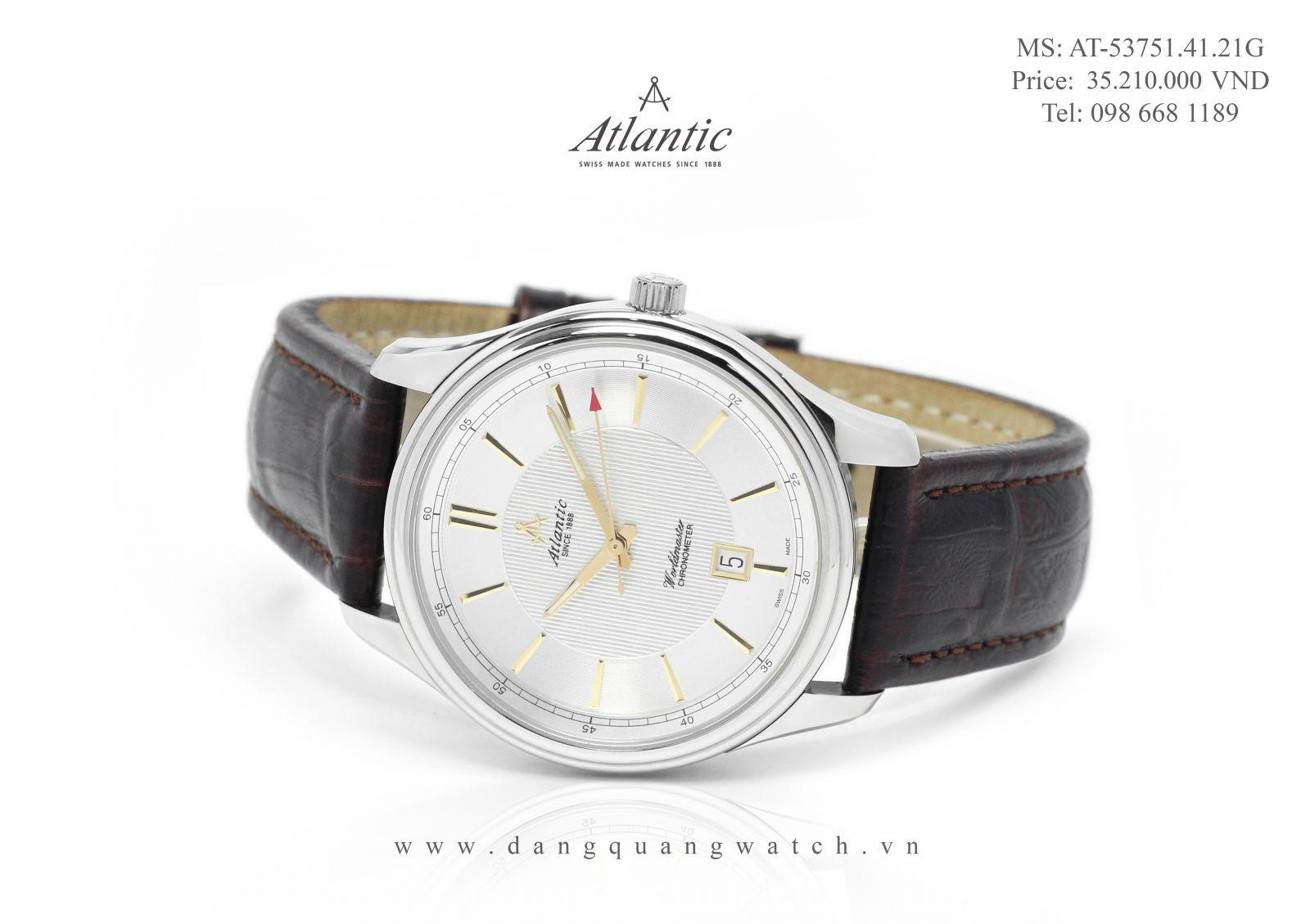 đồng hồ chronometer atlantic