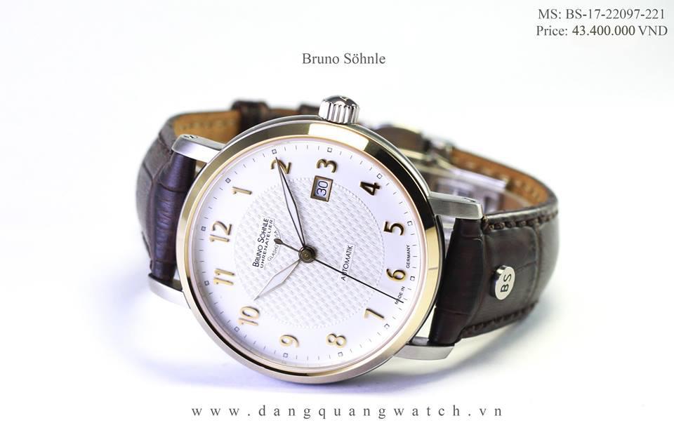 đồng hồ cơ bruno 17-22097-221