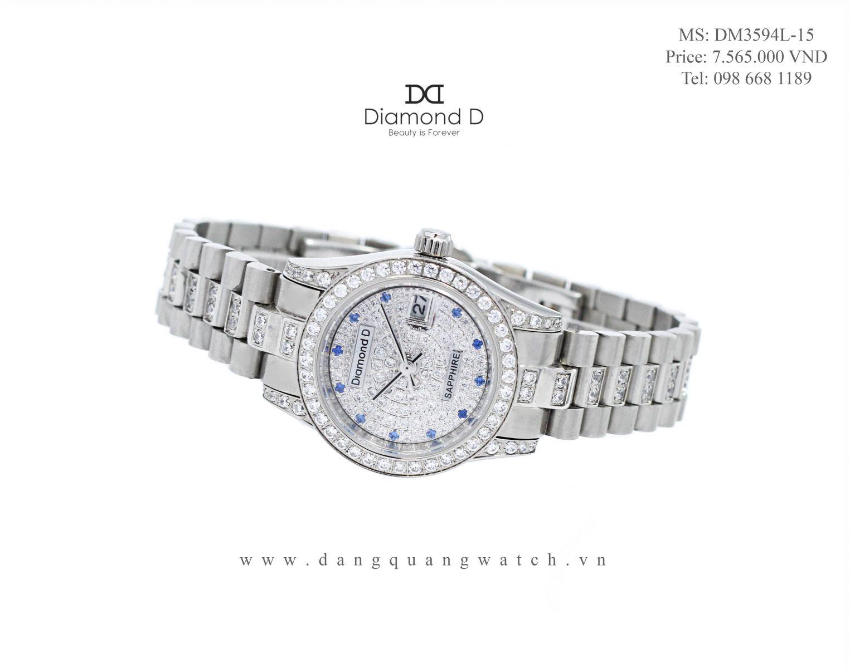 dong ho diamond d DM3594L-15