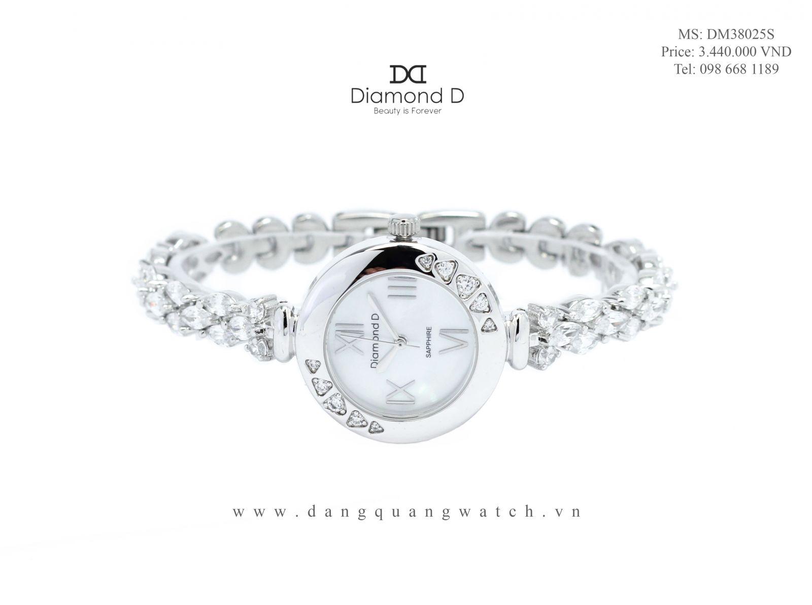 đồng hồ diamond d DM38025S