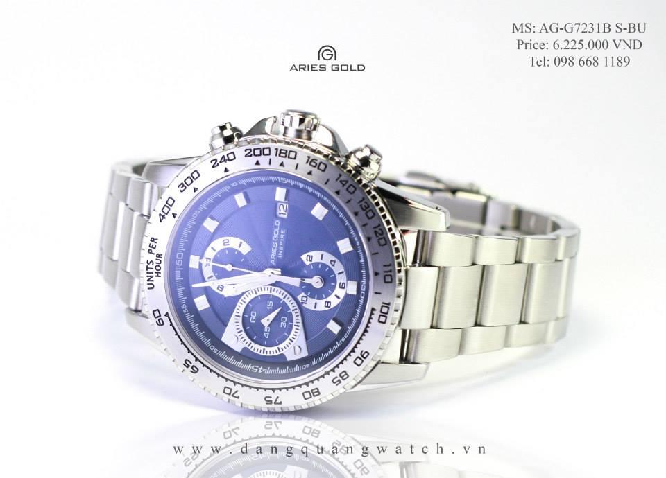 đồng hồ aries gold G7231B S-BU