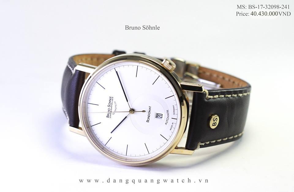 đồng hồ cơ bruno 17-32098-241