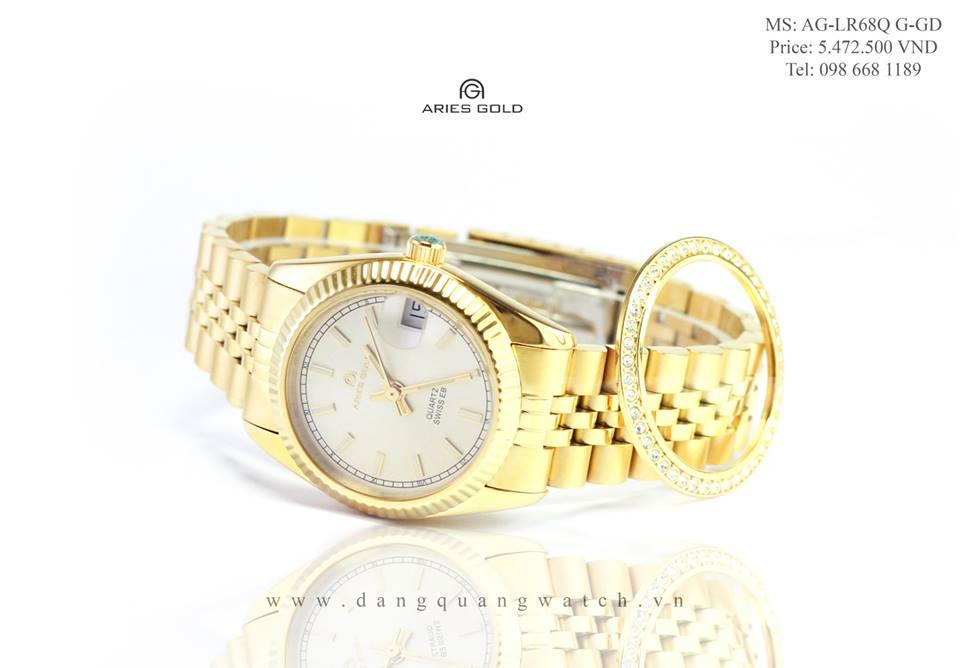 đồng hồ aries gold AG-LR68Q G-GD