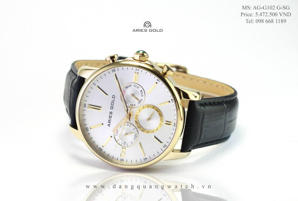 đồng hồ aries gold AG-G102 G-SG