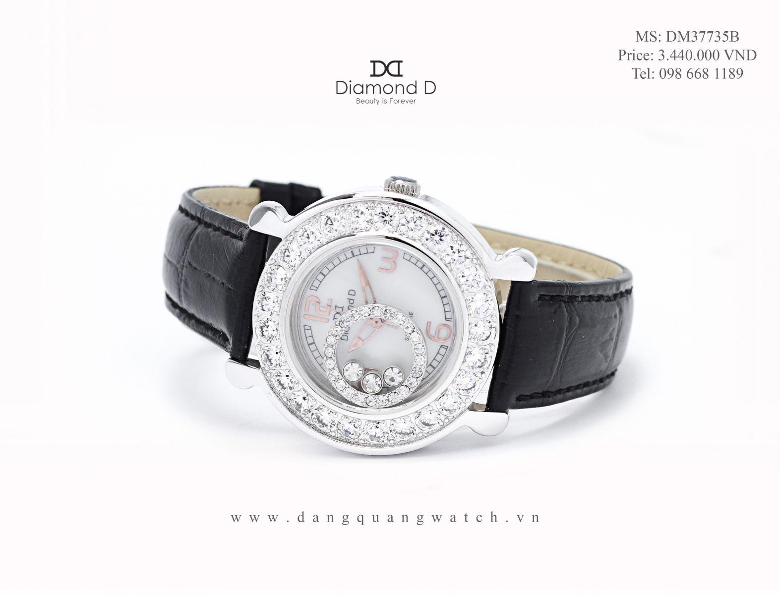 đồng hồ diamond d DM37735B