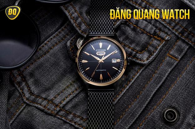 Đồng hồ Citizen Casual mặt số đen