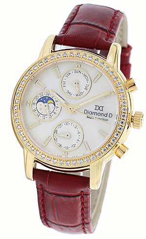 Đồng hồ Diamond D DM64205IG-R