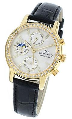 Đồng hồ Diamond D DM64205IG-B