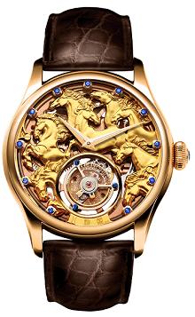 Đồng hồ Tourbillon Memorigin phiên bản ngựa 111111